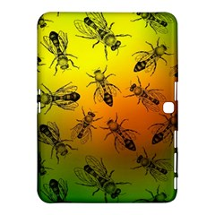 Insect Pattern Samsung Galaxy Tab 4 (10 1 ) Hardshell Case  by Onesevenart