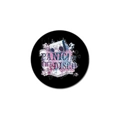 Panic At The Disco Art Golf Ball Marker by Onesevenart