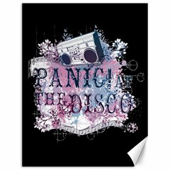 Panic At The Disco Art Canvas 12  X 16   by Onesevenart
