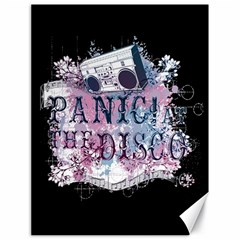 Panic At The Disco Art Canvas 18  X 24   by Onesevenart