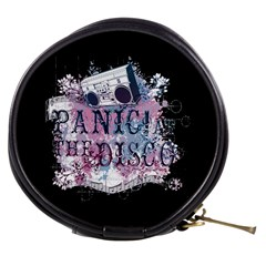 Panic At The Disco Art Mini Makeup Bags by Onesevenart