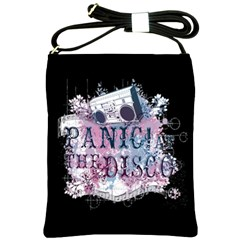 Panic At The Disco Art Shoulder Sling Bags by Onesevenart