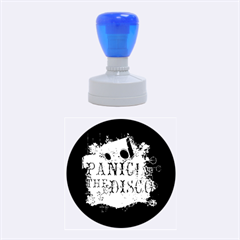 Panic At The Disco Art Rubber Round Stamps (medium) by Onesevenart