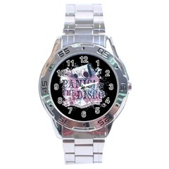 Panic At The Disco Art Stainless Steel Analogue Watch by Onesevenart