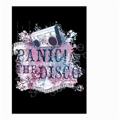 Panic At The Disco Art Small Garden Flag (two Sides) by Onesevenart