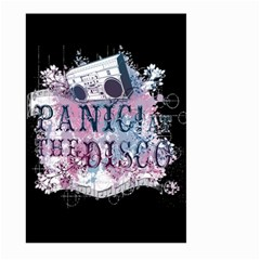 Panic At The Disco Art Large Garden Flag (two Sides) by Onesevenart
