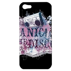 Panic At The Disco Art Apple Iphone 5 Hardshell Case by Onesevenart