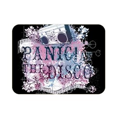 Panic At The Disco Art Double Sided Flano Blanket (mini)  by Onesevenart
