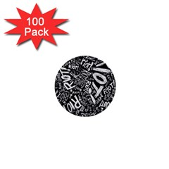 Panic At The Disco Lyric Quotes Retina Ready 1  Mini Buttons (100 Pack)  by Onesevenart