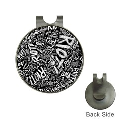 Panic At The Disco Lyric Quotes Retina Ready Hat Clips With Golf Markers by Onesevenart
