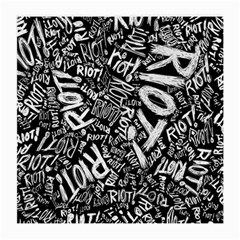 Panic At The Disco Lyric Quotes Retina Ready Medium Glasses Cloth (2 Side) by Onesevenart