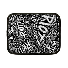 Panic At The Disco Lyric Quotes Retina Ready Netbook Case (small)  by Onesevenart