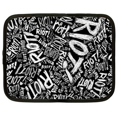 Panic At The Disco Lyric Quotes Retina Ready Netbook Case (large) by Onesevenart