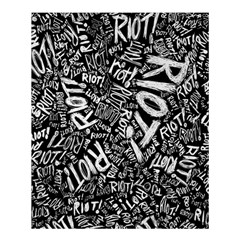 Panic At The Disco Lyric Quotes Retina Ready Shower Curtain 60  X 72  (medium)  by Onesevenart