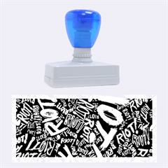 Panic At The Disco Lyric Quotes Retina Ready Rubber Stamps (large) by Onesevenart