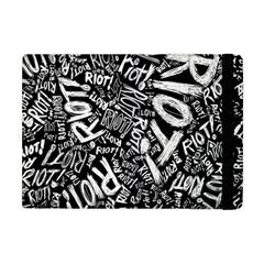 Panic At The Disco Lyric Quotes Retina Ready Apple Ipad Mini Flip Case by Onesevenart