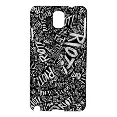 Panic At The Disco Lyric Quotes Retina Ready Samsung Galaxy Note 3 N9005 Hardshell Case by Onesevenart