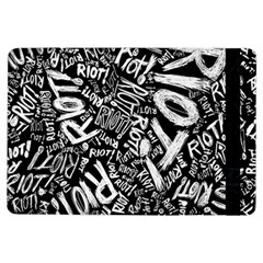 Panic At The Disco Lyric Quotes Retina Ready Ipad Air Flip by Onesevenart