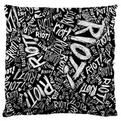 Panic At The Disco Lyric Quotes Retina Ready Standard Flano Cushion Case (one Side) by Onesevenart