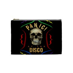 Panic At The Disco Poster Cosmetic Bag (medium)  by Onesevenart