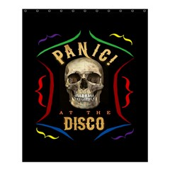 Panic At The Disco Poster Shower Curtain 60  X 72  (medium)  by Onesevenart