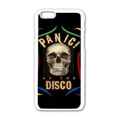Panic At The Disco Poster Apple Iphone 6/6s White Enamel Case by Onesevenart