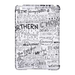 Panic At The Disco Lyrics Apple Ipad Mini Hardshell Case (compatible With Smart Cover) by Onesevenart