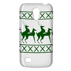 Humping Reindeer Ugly Christmas Galaxy S4 Mini by Onesevenart