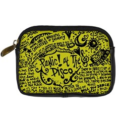 Panic! At The Disco Lyric Quotes Digital Camera Cases by Onesevenart