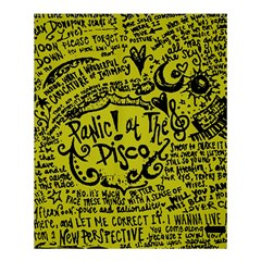 Panic! At The Disco Lyric Quotes Shower Curtain 60  X 72  (medium)  by Onesevenart
