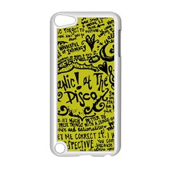Panic! At The Disco Lyric Quotes Apple Ipod Touch 5 Case (white) by Onesevenart