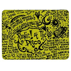 Panic! At The Disco Lyric Quotes Samsung Galaxy Tab 7  P1000 Flip Case by Onesevenart