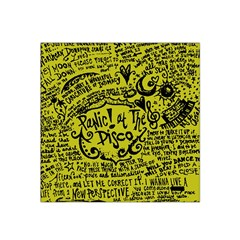 Panic! At The Disco Lyric Quotes Satin Bandana Scarf by Onesevenart