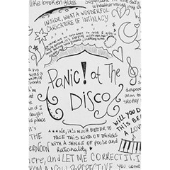 Panic! At The Disco Lyrics 5 5  X 8 5  Notebooks by Onesevenart
