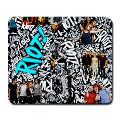 Panic! At The Disco College Large Mousepads by Onesevenart