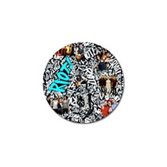 Panic! At The Disco College Golf Ball Marker (10 Pack) by Onesevenart