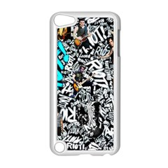 Panic! At The Disco College Apple Ipod Touch 5 Case (white) by Onesevenart