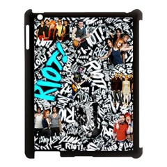 Panic! At The Disco College Apple Ipad 3/4 Case (black) by Onesevenart