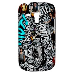 Panic! At The Disco College Samsung Galaxy S3 Mini I8190 Hardshell Case by Onesevenart