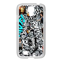Panic! At The Disco College Samsung Galaxy S4 I9500/ I9505 Case (white) by Onesevenart