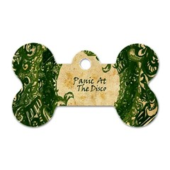 Panic At The Disco Dog Tag Bone (two Sides) by Onesevenart