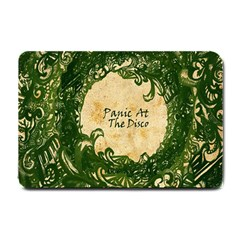 Panic At The Disco Small Doormat  by Onesevenart