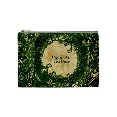 Panic At The Disco Cosmetic Bag (medium)  by Onesevenart