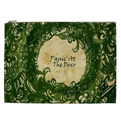 Panic At The Disco Cosmetic Bag (xxl)  by Onesevenart
