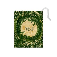 Panic At The Disco Drawstring Pouches (medium)  by Onesevenart