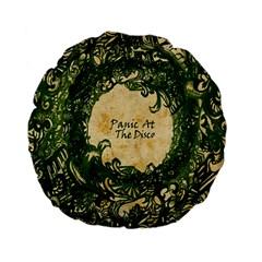 Panic At The Disco Standard 15  Premium Flano Round Cushions by Onesevenart