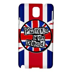 Punk Not Dead Music Rock Uk United Kingdom Flag Samsung Galaxy Note 3 N9005 Hardshell Case by Onesevenart