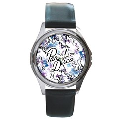 Panic! At The Disco Round Metal Watch by Onesevenart