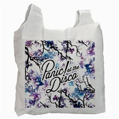 Panic! At The Disco Recycle Bag (two Side)  by Onesevenart