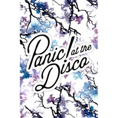 Panic! At The Disco 5 5  X 8 5  Notebooks by Onesevenart